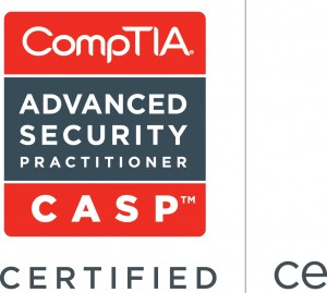 CompTIA Advanced Security Practitioner (CASP) Certified Logo