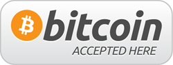 We Accept Bitcoin - contact us for details